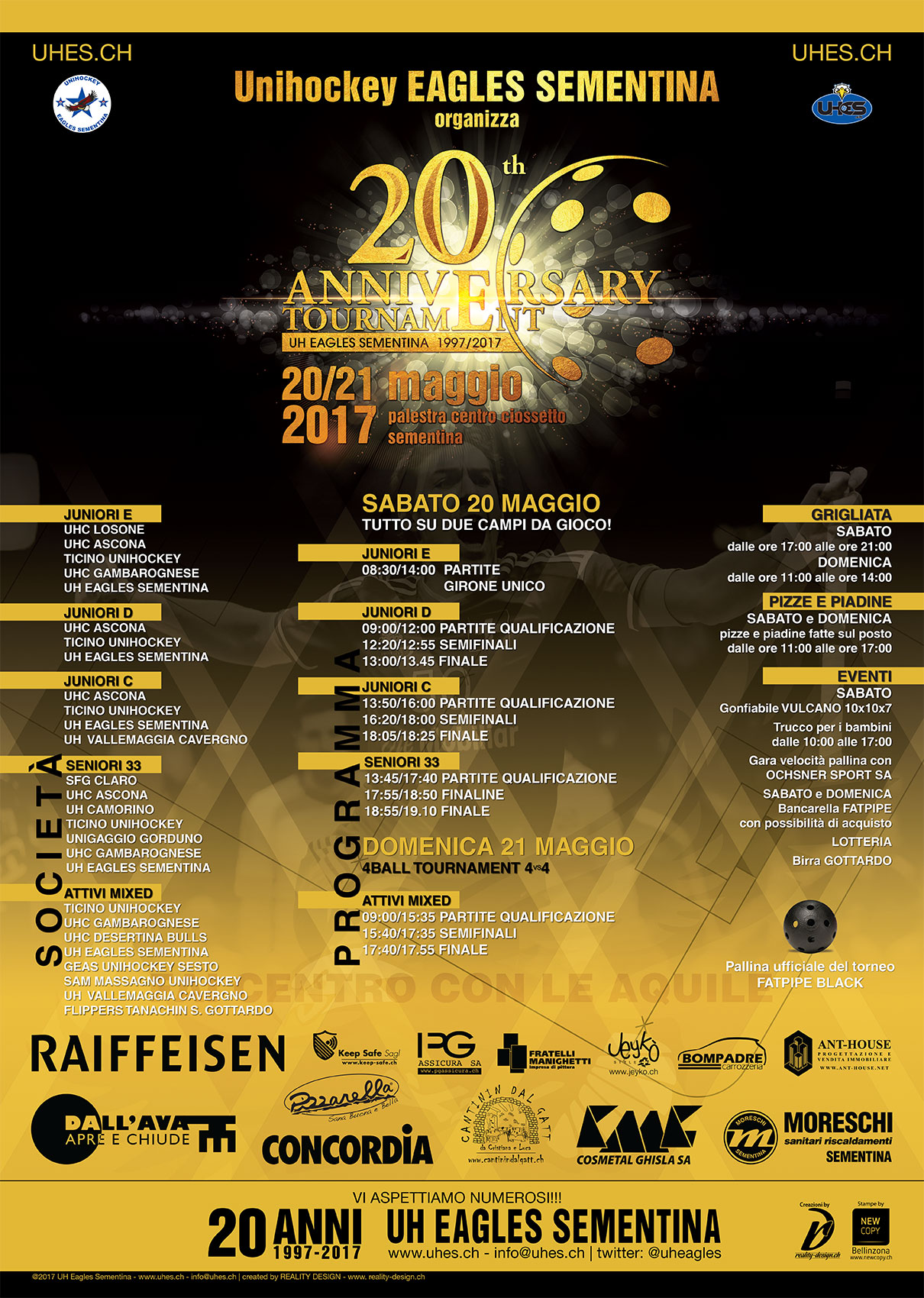 Flyer 20th Anniversary Tournament