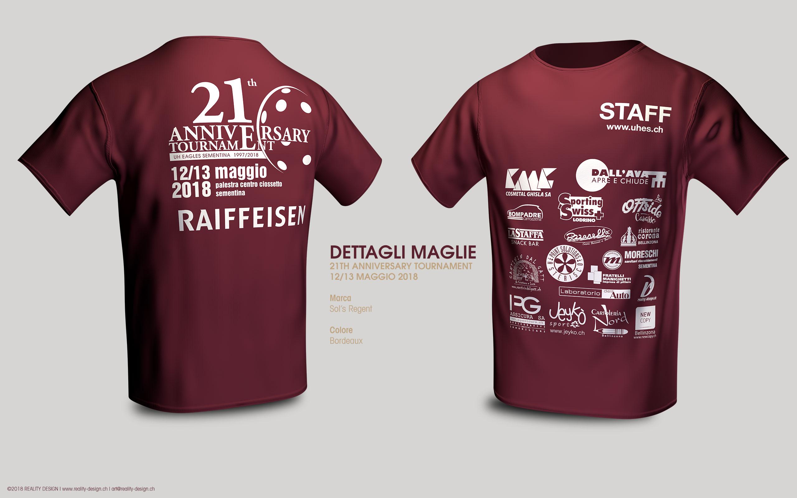 Maglietta STAFF