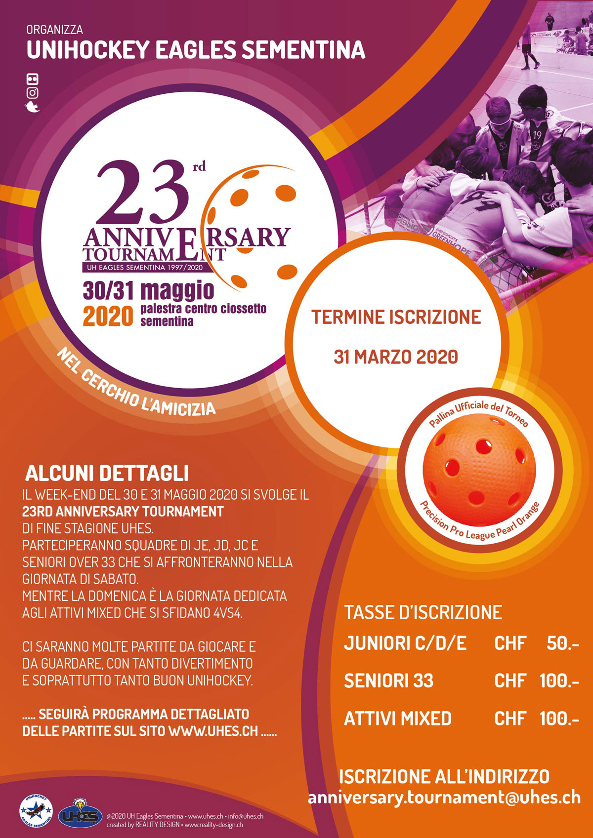 Flyer A5 23rd Anniversary Tournament