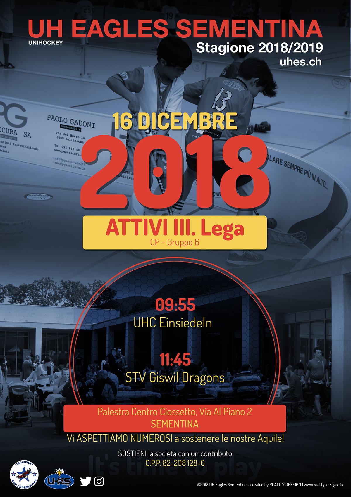 Giornata Casalinga ATTIVI CP 2018/2019