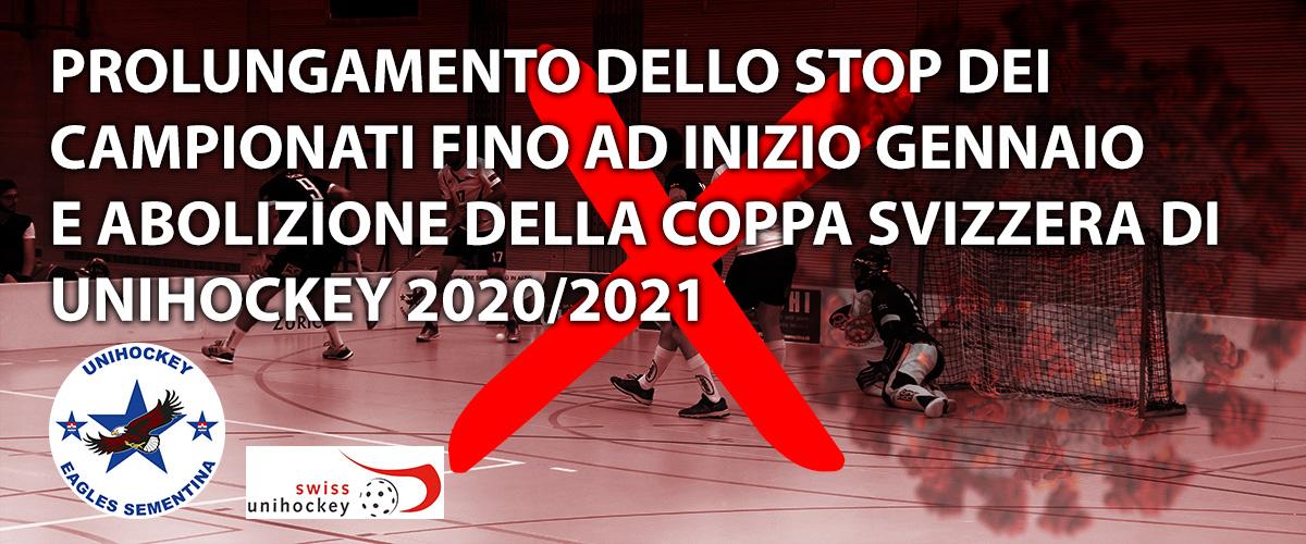 Sospensioni campionati 2020
